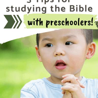 Bible Study for Preschoolers