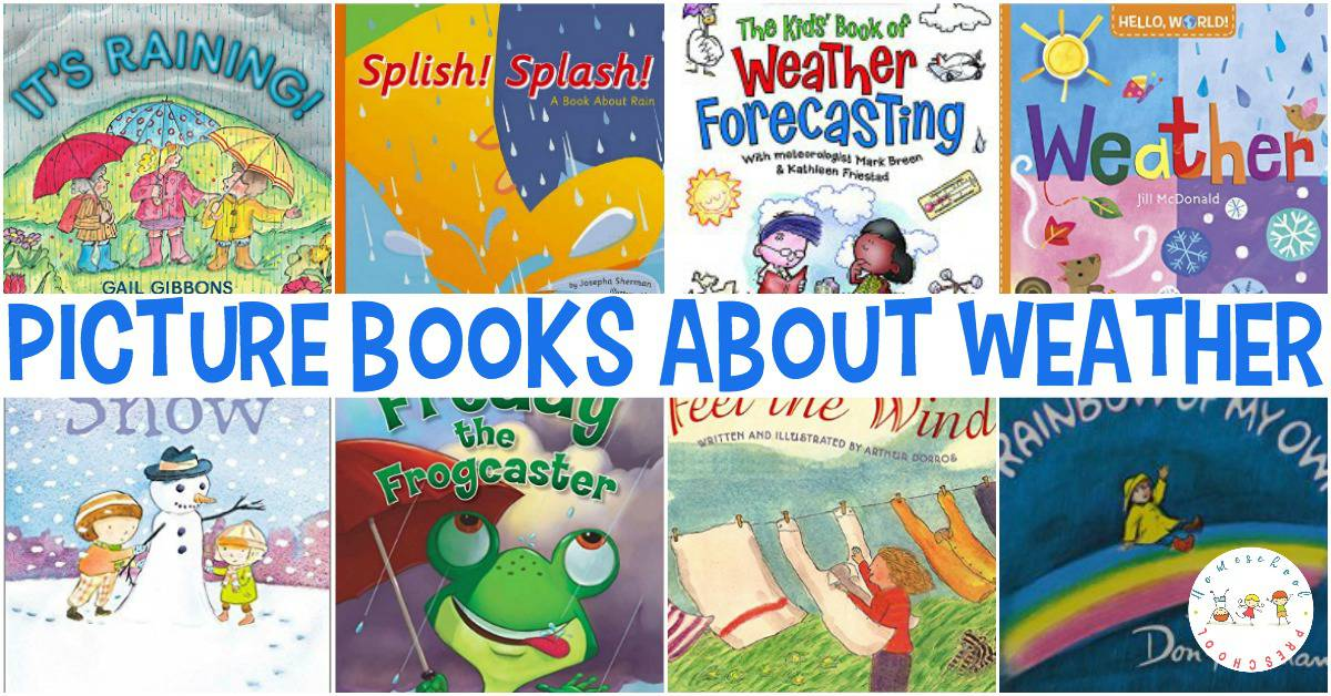 Fill your book basket with a great collection of summer books for preschoolers. Most of these books can be found at your local library or used bookstore. If you have a hard time finding them, you can order them through my Amazon affiliate links by clicking the images below.