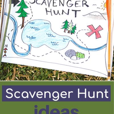 Preschool Scavenger Hunt
