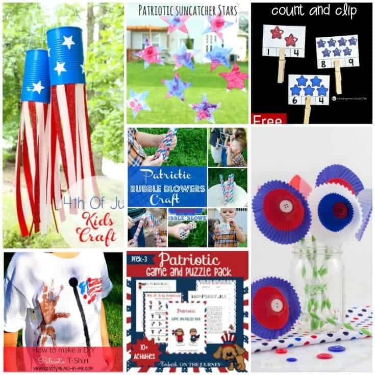 Celebrate this summer's holidays with one or more of these patriotic activities that are perfect for your preschoolers!