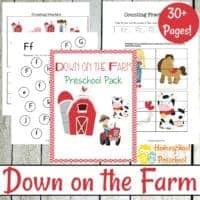 Printable Preschool Farm Activities