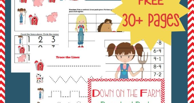 Farm Tot & Preschool Printable