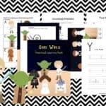 Star Wars Preschool Printable Pack