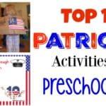 Top Ten Patriotic Activities for Preschoolers