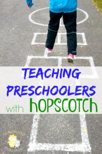 5 Ways to Teach Preschoolers with Hopscotch