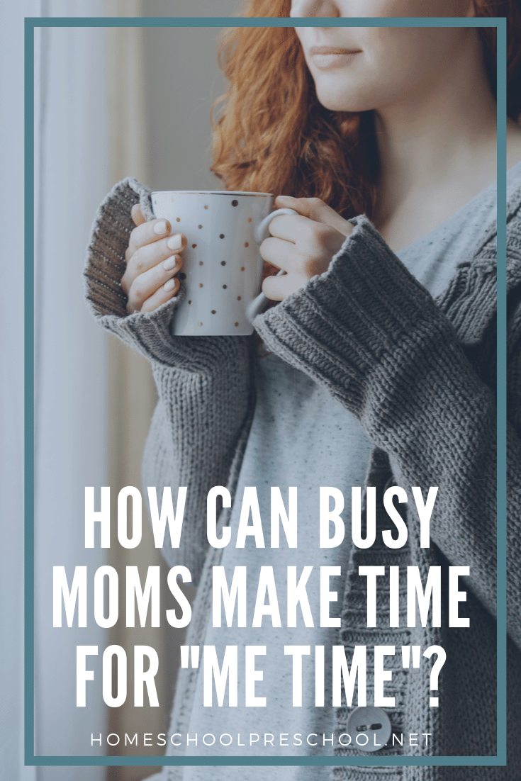 """It's important for moms to find a few minutes to focus on themselves. Here are five ways busy moms can take a few minutes to have some """"me time."""""""