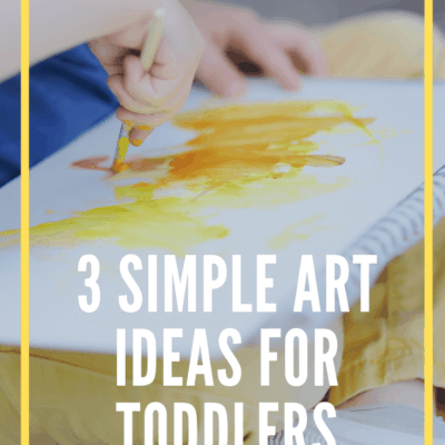 3 Easy Crafts for Toddlers