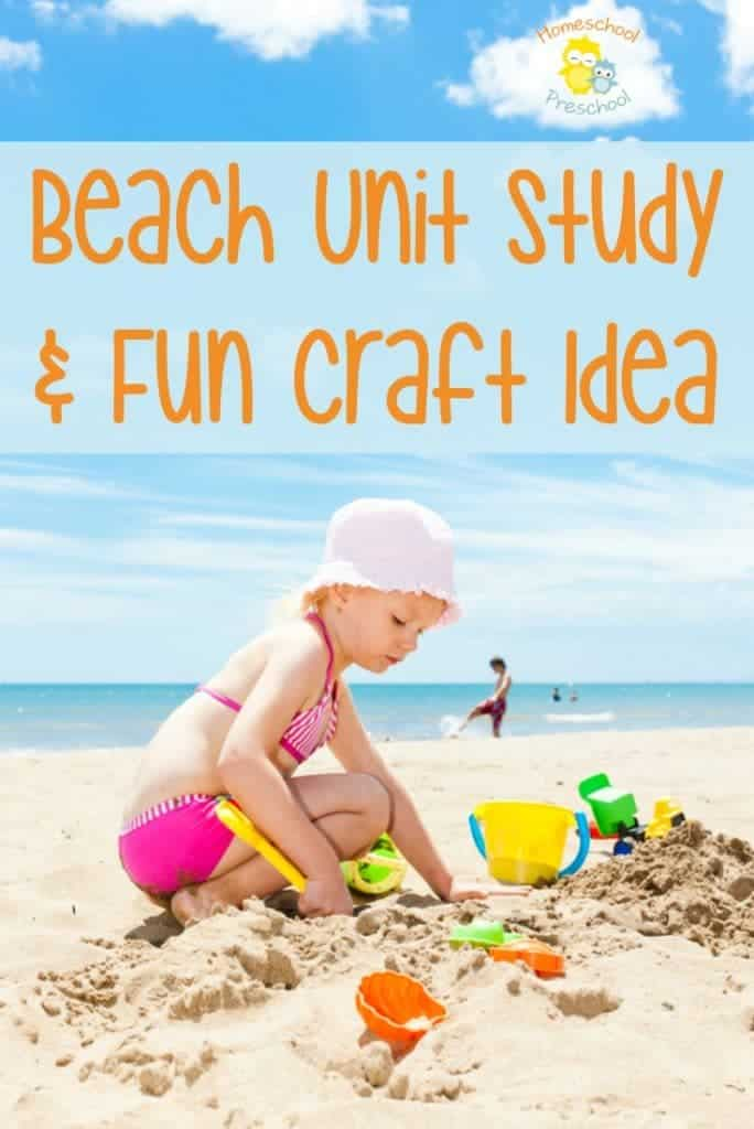 Here's a fun ocean-themed unit study for kids! It's jam-packed with printables, books, activites, and crafts! Don't miss it! | homeschoolpreschool.net