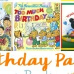 Birthday Party Picture Books for Kids