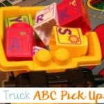 Dump Truck Pick Up the Alphabet Game