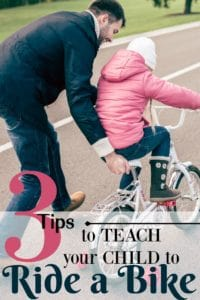 The weather has warmed up, and it's time to spend time outdoors. Here are tips on how to teach a child to ride a bike. It's not as hard as you think!