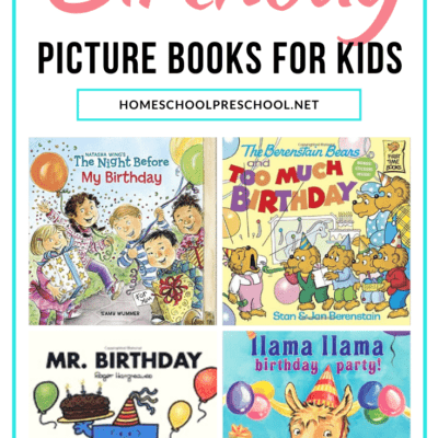 Birthday Books for Preschoolers