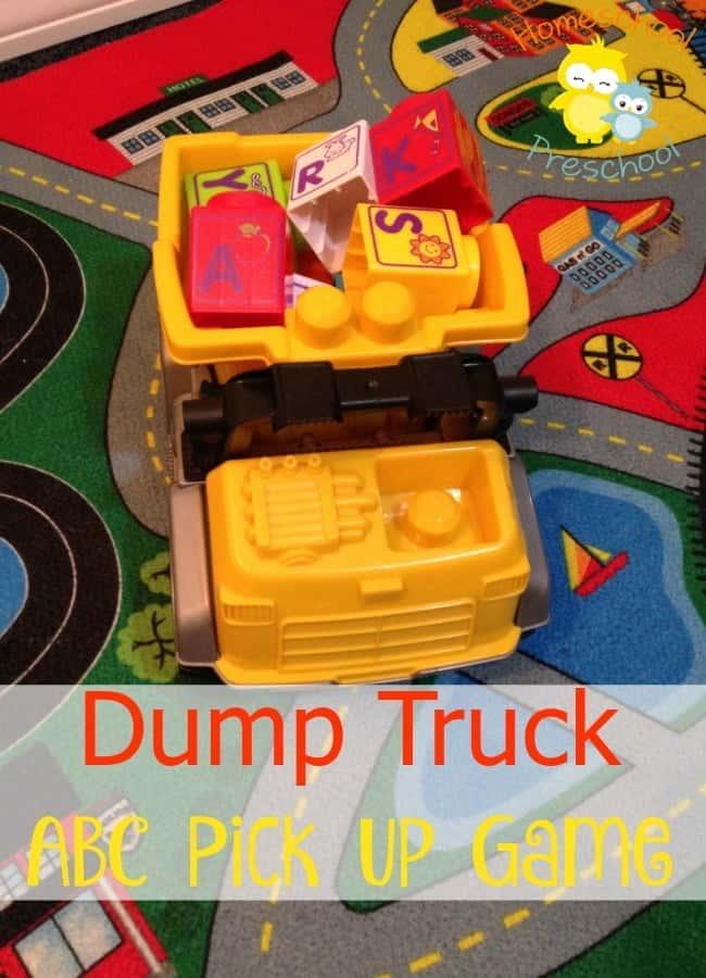 dump truck ABC