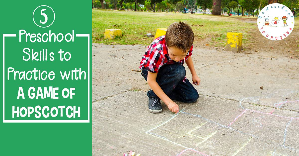 Turn a game of hopscotch for kids into a fun teaching session with these five tips! Your kids will love learning this way!