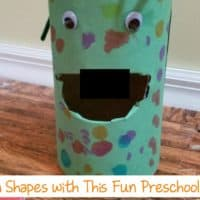Preschoolers Learn with Feed the Monster Game