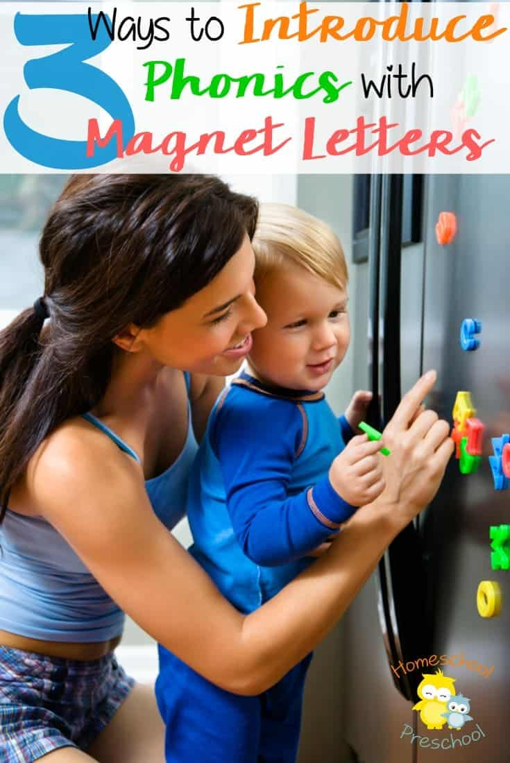 Teach Phonics with Letter Magnets