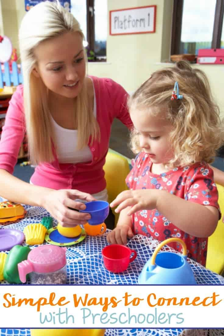 3 Simple Ways to Connect with Preschoolers