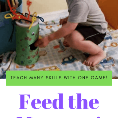 Preschool Feed the Monster Game