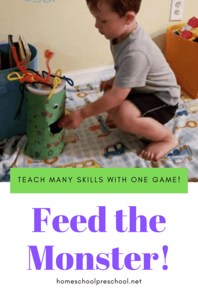 Preschoolers will practice shape recognition as they play this Feed the Monster game. The hungry monster is waiting for your kids to feed him his next shape snack.