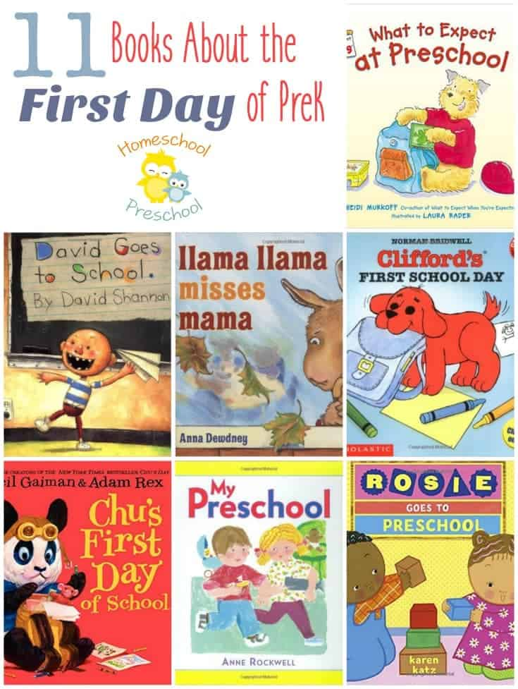Prepare your kids for their first day of preschool with this great book list! | homeschoolpreschool.net