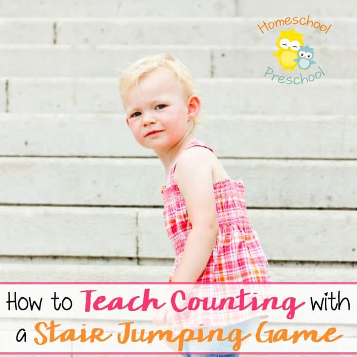How to Teach Counting with a Stair Jumping Game