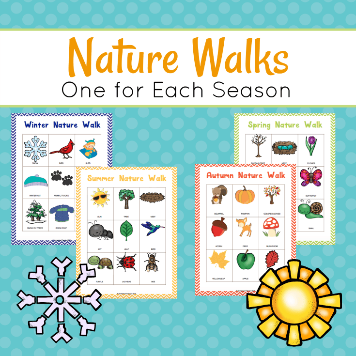 Do your preschoolers love being outdoors? Do they love exploring nature? If so, they're sure to love taking a nature walk with you.