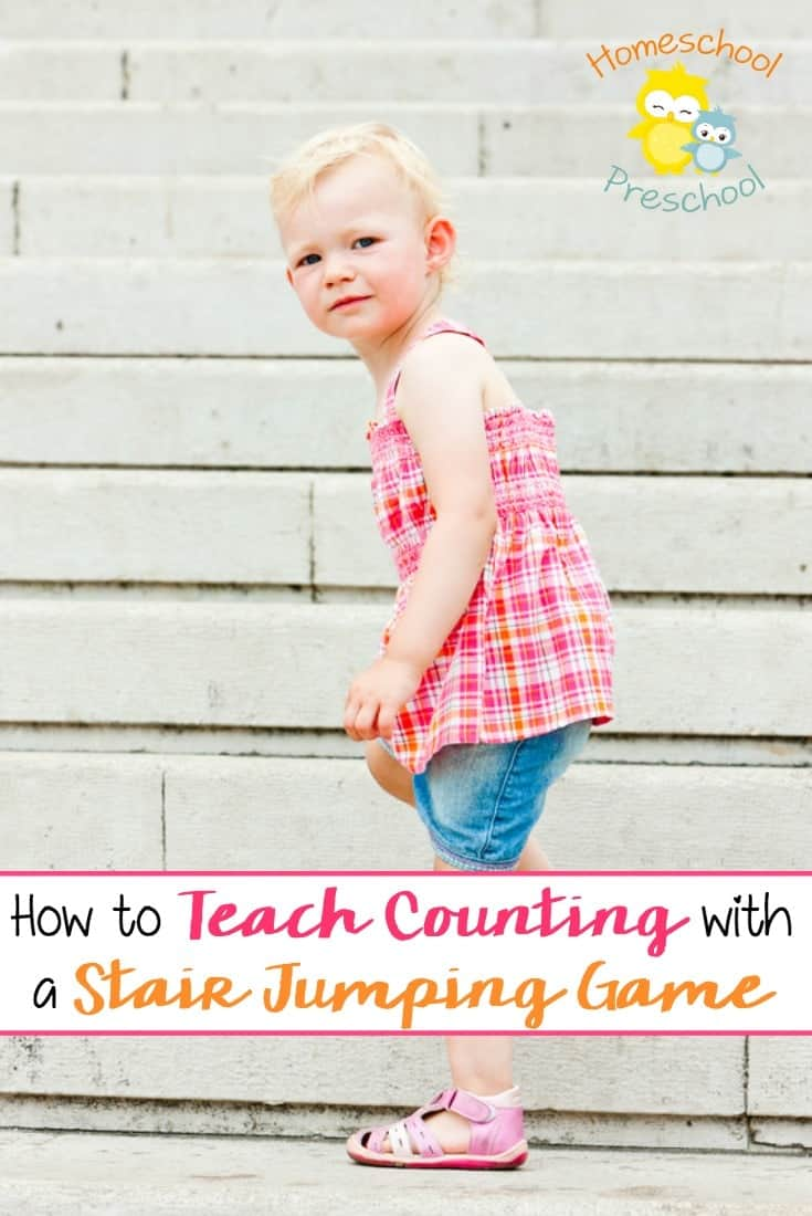Teach Counting with Stair Jumping