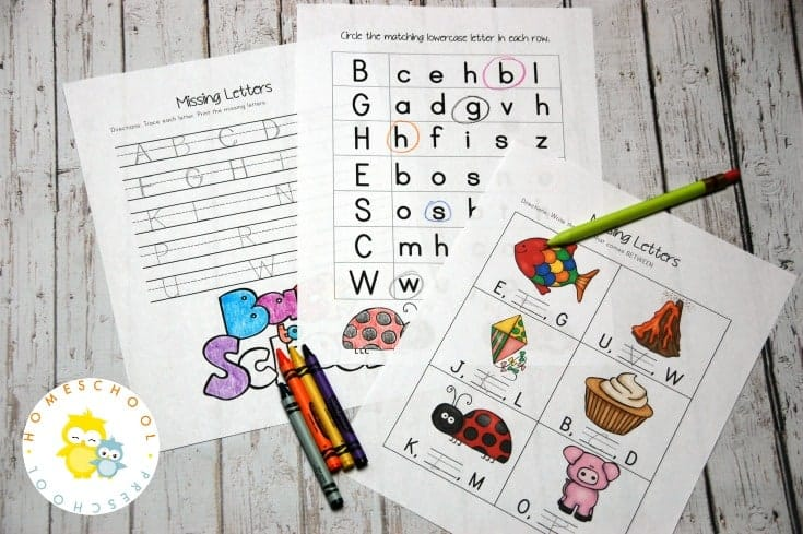 Let's kick off this homeschool year focusing on the alphabet. With this pack of alphabet printables, your preschoolers will do just that!