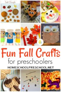 Fall is just around the corner! Woohoo! You have to check out these amazing fall crafts for preschoolers. Which one will you try first?