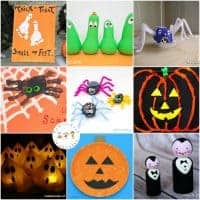 25 Not-So-Spooky Halloween Crafts for Kids