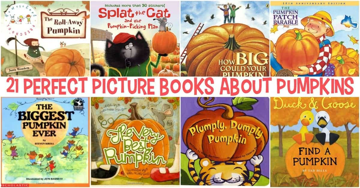 Here is a fun list of pumpkin books that are not Halloween related. These books are perfect for your preschoolers, and they'll lead to some great autumn conversations.