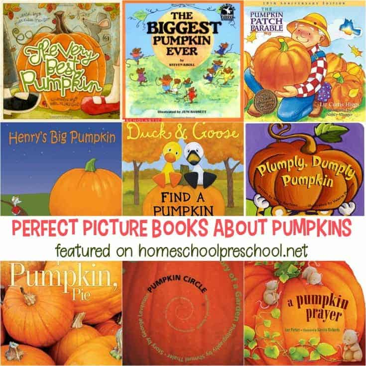 21 Perfect Pumpkin Books for Preschoolers