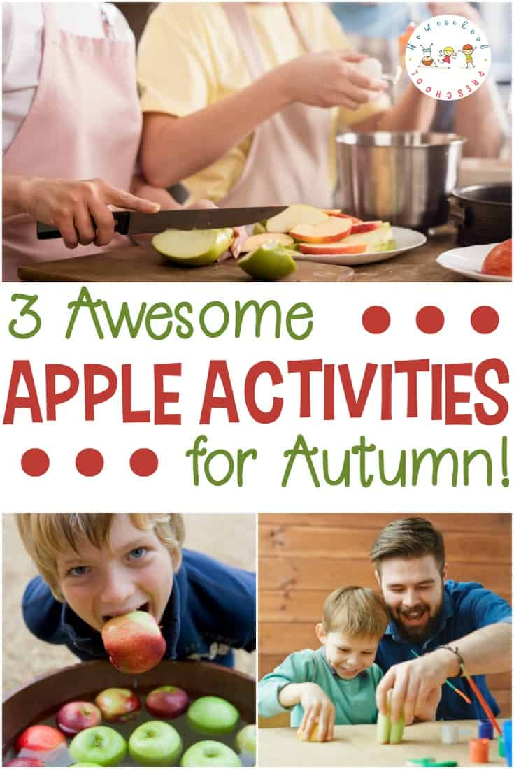 Autumn is the perfect time to enjoy these hands-on apple activities with your preschooler. They're a great addition to your apples preschool theme this fall.