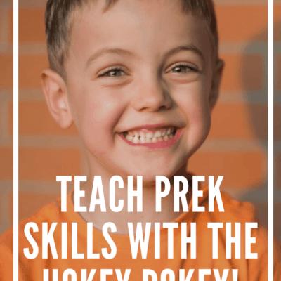 Hokey Pokey Preschool Game