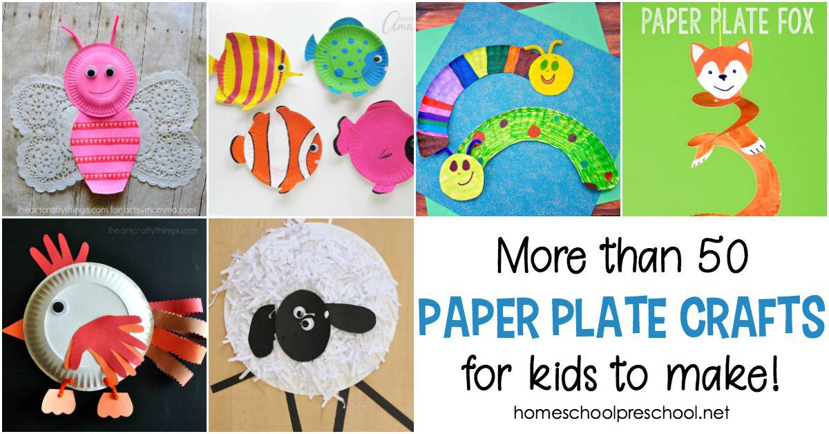 Getting ready for a crafting session with your little ones? We've got a wonderful collection of ideas for paper plate crafts for kids to kick start their imagination and get them crafting in no time.