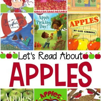Our Favorite Collection of Preschool Apple Books