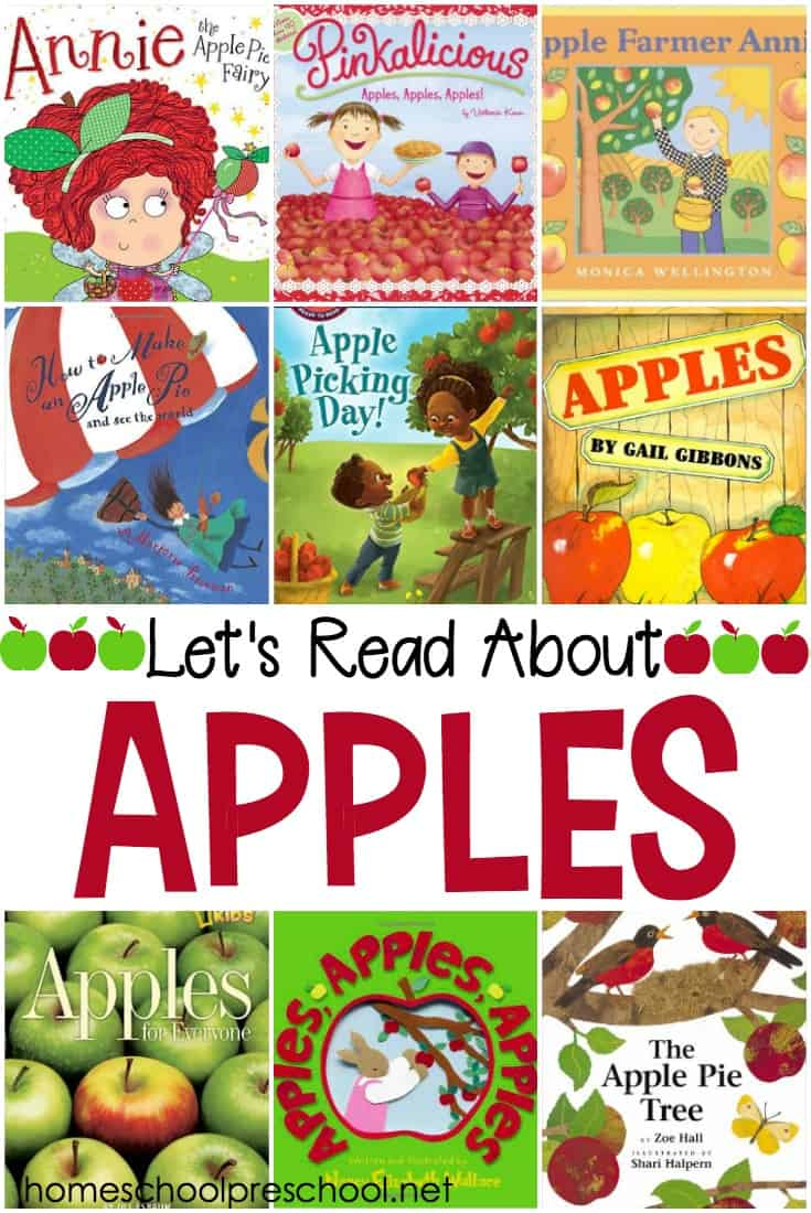 These preschool apples books are ripe for the pickin' and your little ones are sure to love each one. Fill your autumn book basket with books from this list.