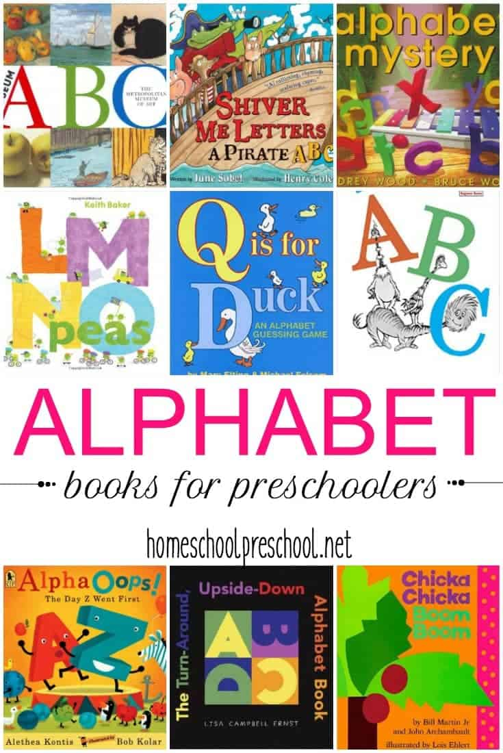 You can't teach the early years without an amazing collection of alphabet books for kids. Here are 50 of our favorites to get you started!