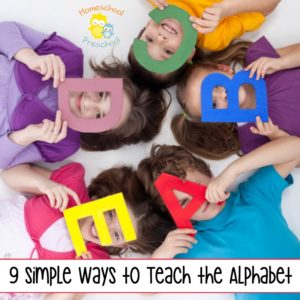 9 Simple Ways to Teach the Alphabet