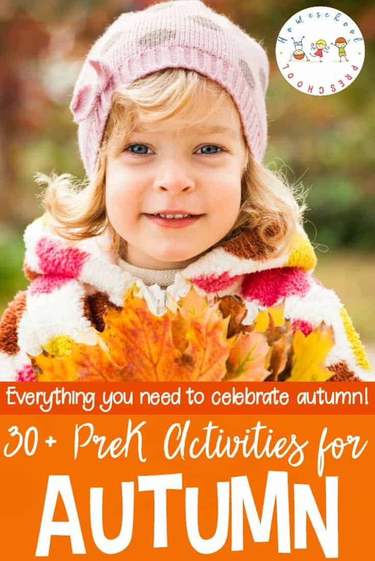 Autumn has arrived! Celebrate autumn with this awesome collection of autumn activities and resources for preschoolers!