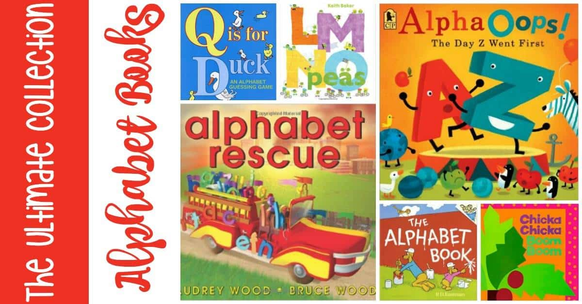 Are you getting ready to teach your kids the alphabet? Introduce your kids to letters and their sounds with this amazing collection of alphabet books for kids! | homeschoolpreschool.net