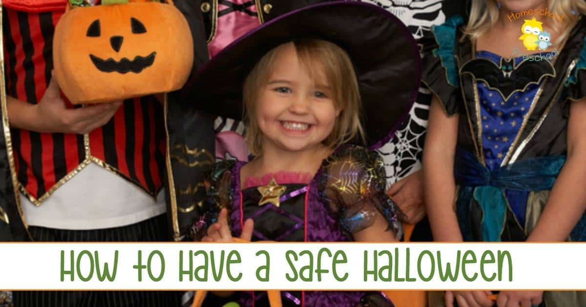 Are your kids gearing up to go trick-or-treating? Have you bought the costumes and the candy bags? Have you brushed up on Halloween safety tips to keep your kids safe on Halloween night? Don't neglect these important Halloween safety tips. They'll help ensure you make memories not disasters this Halloween. | homeschoolpreschool.net