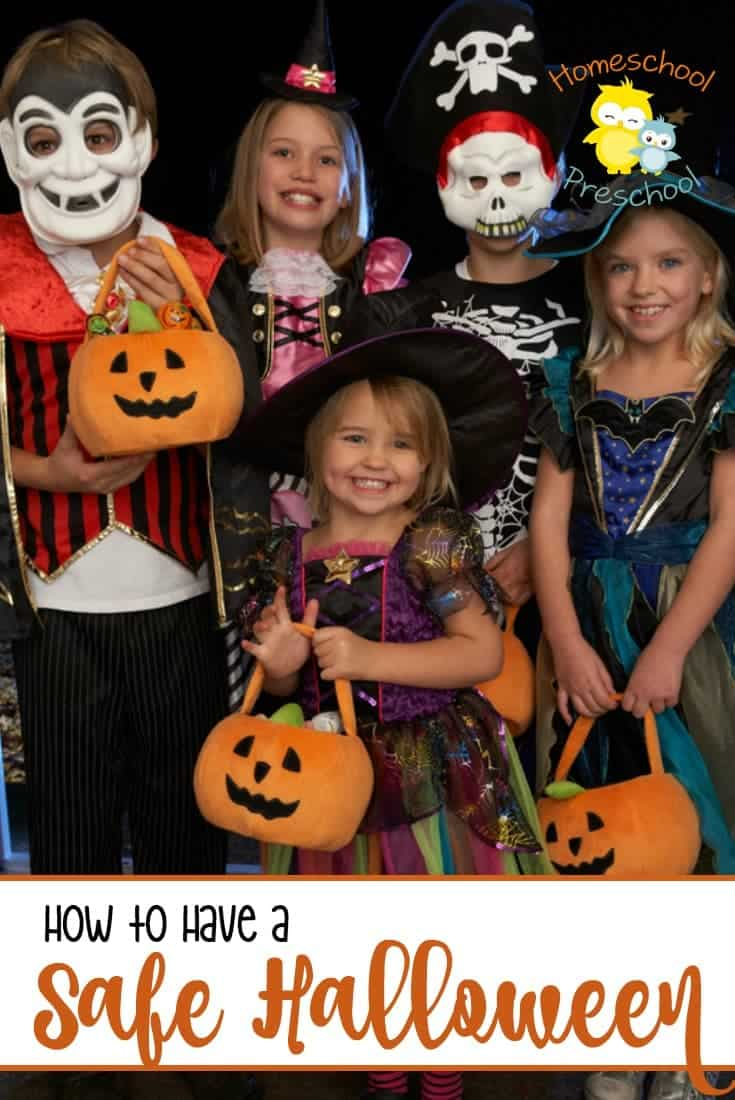 Have a safe Halloween night with these important tips. They'll help ensure you make memories not disasters this Halloween. | homeschoolpreschool.net
