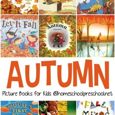 Our Favorite Fall Books for Preschoolers