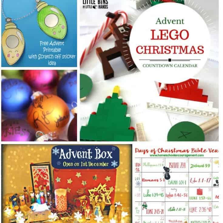 Advent Calendar Preschool : Countdown to christmas advent calendars and activities