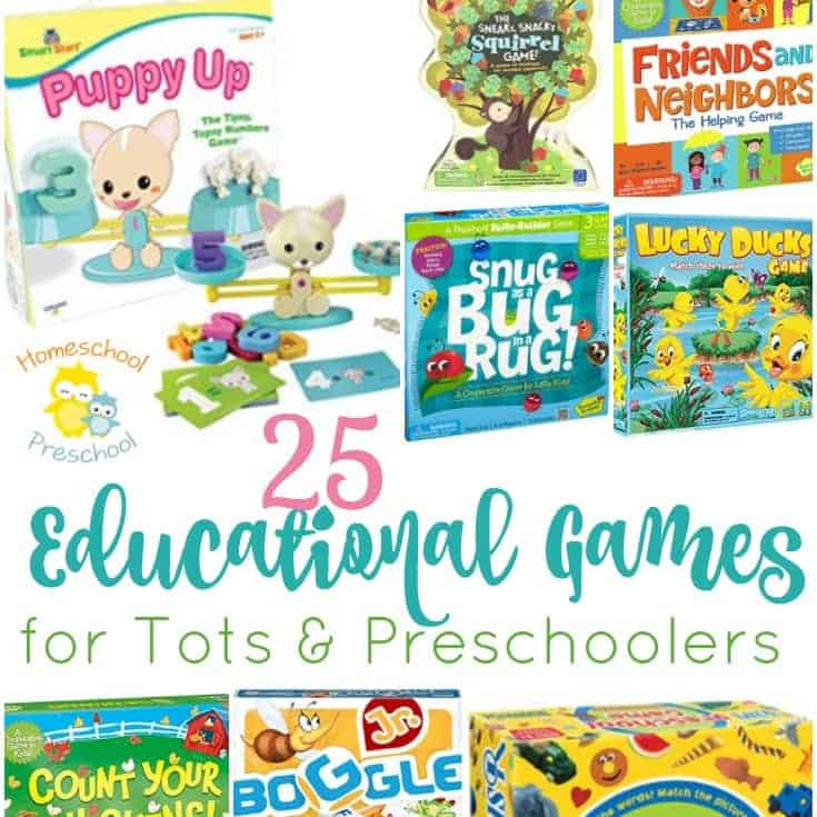 25 of the Best Educational Board Games for Preschoolers