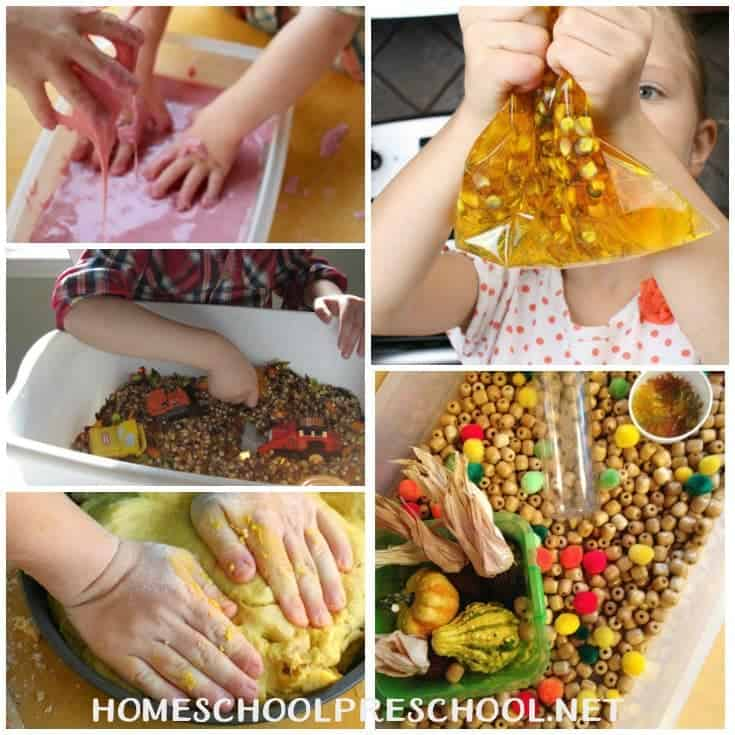 I've rounded up twenty amazing Thanksgiving sensory activities that your tots and preschoolers are going to love! Which one will you try first? | homeschoolpreschool.net