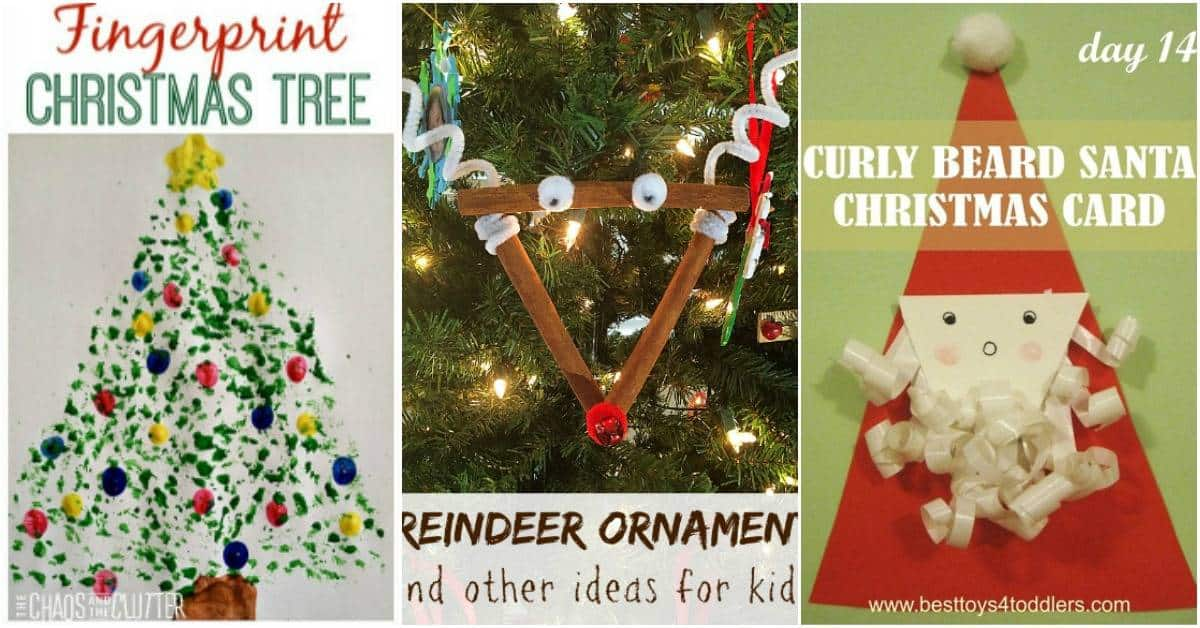 Crafts and activities are the perfect way to entertain your little ones during December. There are over 90 Christmas crafts for kids to choose from!