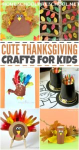 20 of the Best Thanksgiving Crafts for Kids