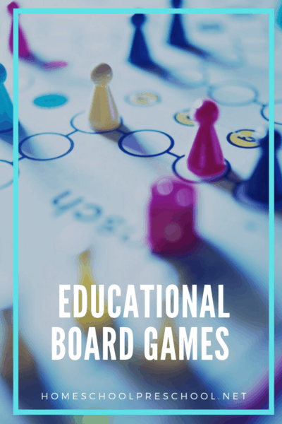 Looking for something new to add to the game closet? This list of educational board games for preschoolers is the perfect place to start.